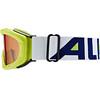 Alpina Ruby S Singleflex Hicon S1 goggles Kinderen groen/wit